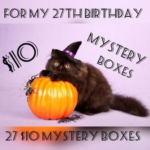 $10 Mystery Boxes to Celebrate My Birthday 🎉